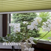 Pleated blinds and shades 'Decorus'