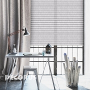 Pleated curtains and shades Decorus