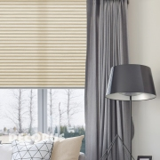 Pleated curtains and shades Decorus Gal