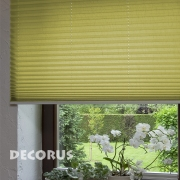 Pleated blinds and shades