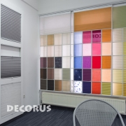 Pleated shades Decorus