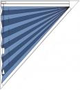 """plise senčilo"" trikotne oblike"