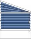 """""""plise zavesa"""" trapezne oblike, regulacija z vrvico na desni  strani"""